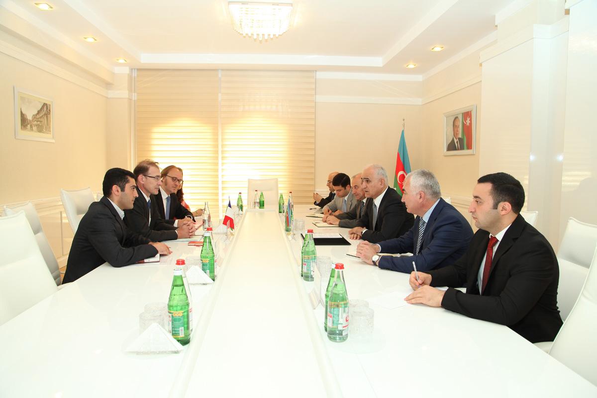 Azərbaycan və Fransa arasında regionlararası idarəetmə komitəsi yaradıla bilər (FOTO)