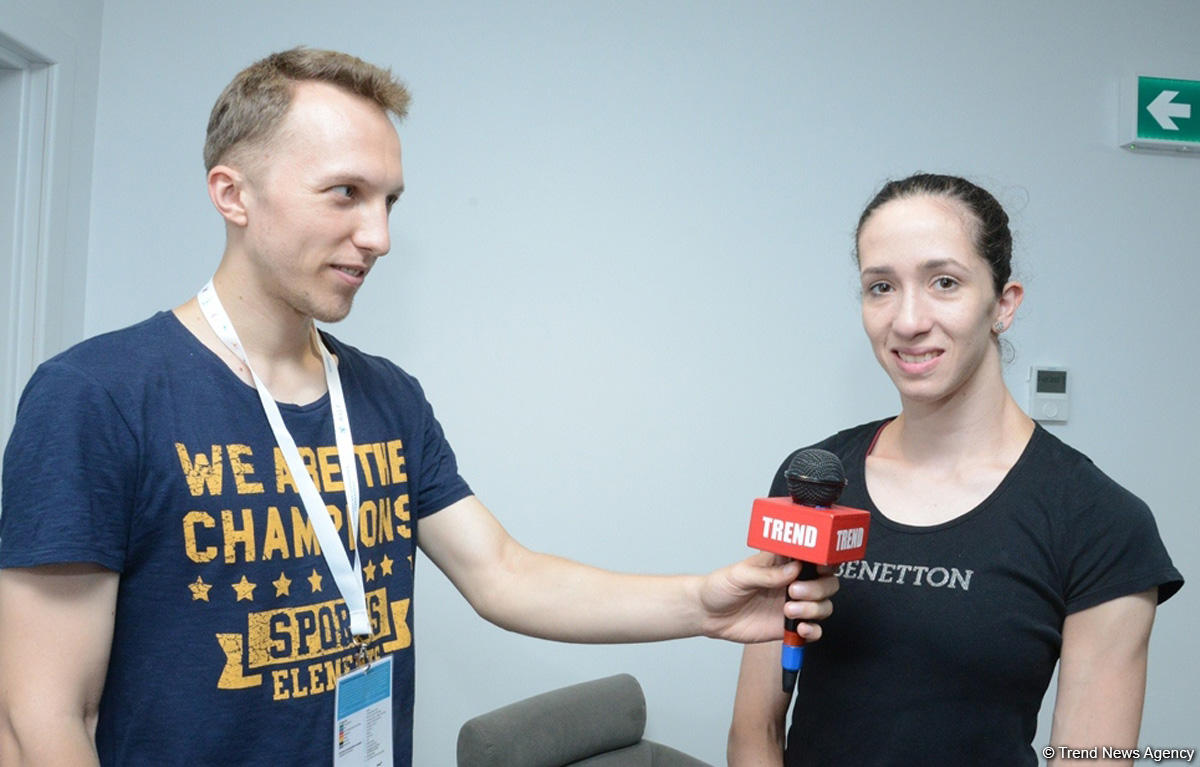 Azerbaijan always holds competitions at highest level – Israeli gymnast - Gallery Image