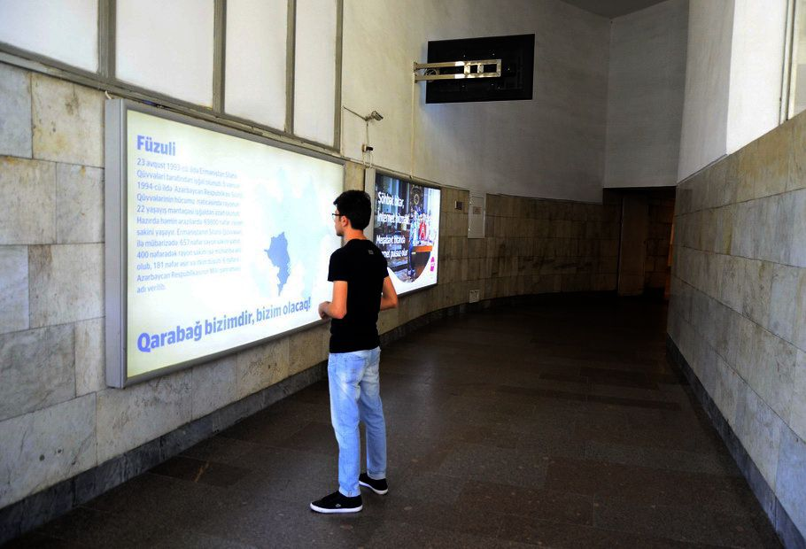 Bakı metrosunda növbəti sosial layihə (FOTO) - Gallery Image