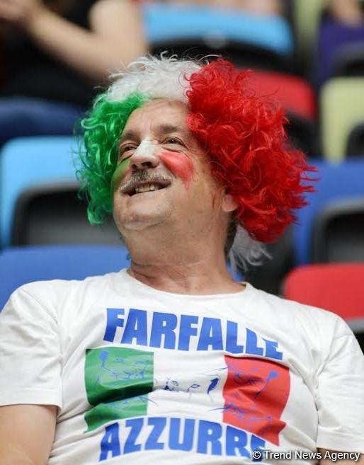 İtalyan azarkeş gimnastika yarışlarına görə üçüncü dəfədir Bakıya gəlib (FOTO) - Gallery Image