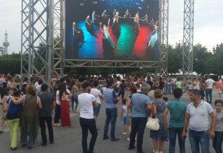 Milli Parkda pulsuz rəqs dərsləri (FOTO)