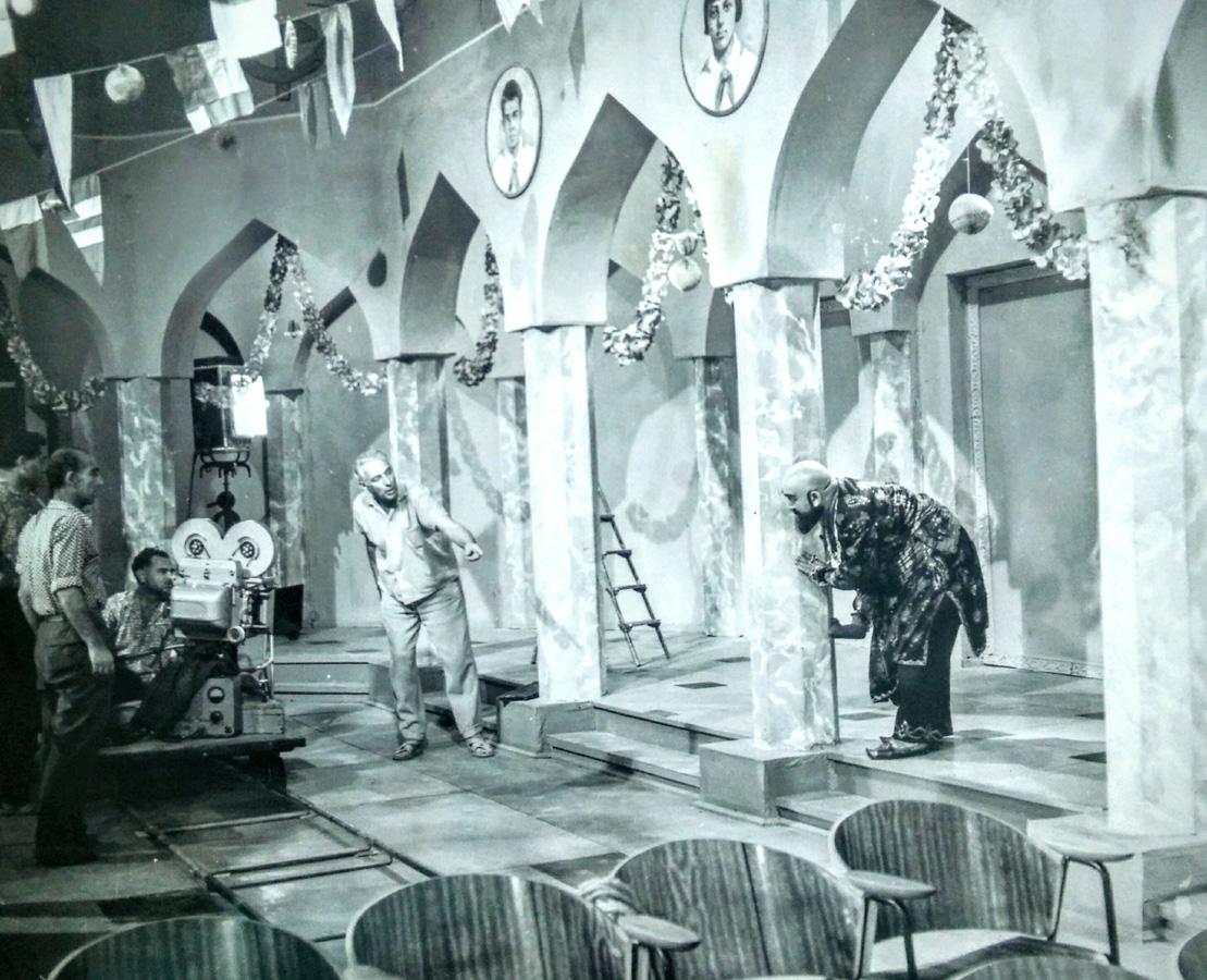 Вы видели черно-белые фото азербайджанских ретро-фильмов? Уникальный архив  Пярвиза Гулиева! (ВИДЕО, ФОТО) - Gallery Image