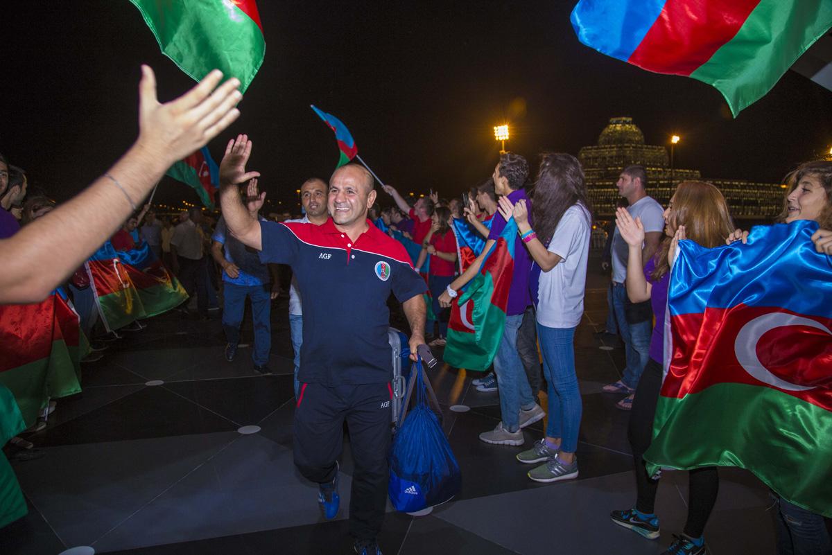 AZAL доставит сборную Азербайджана на Олимпийские игры в Рио-де-Жанейро (ФОТО/ВИДЕО) - Gallery Image