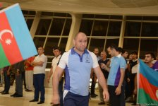 Solemn see-off ceremony for Azerbaijani athletes who will take part in Rio 2016 (PHOTOS) - Gallery Thumbnail