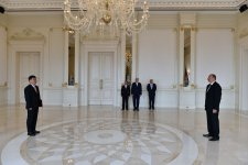President Aliyev receives credentials of incoming Chinese ambassador (PHOTO) - Gallery Thumbnail