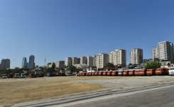 President Aliyev lays foundation of new road-transport infrastructure  (PHOTO) - Gallery Thumbnail