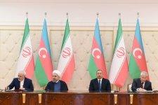 Azərbaycan və İran arasında 6 sənəd imzalanıb - Gallery Thumbnail