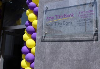 Another sub-branch of Azer Turk Bank given at customers' disposal