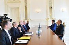 Президент Ильхам Алиев принял представителя Конгресса США (ФОТО) - Gallery Thumbnail