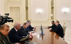 President Aliyev receives Russian Defense Minister - Gallery Thumbnail