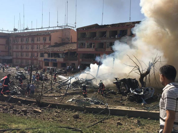Explosion in Turkish military unit: one dead
