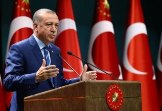 Turkey hopes for achieving success in Karabakh conflict settlement together with Russia - Erdogan