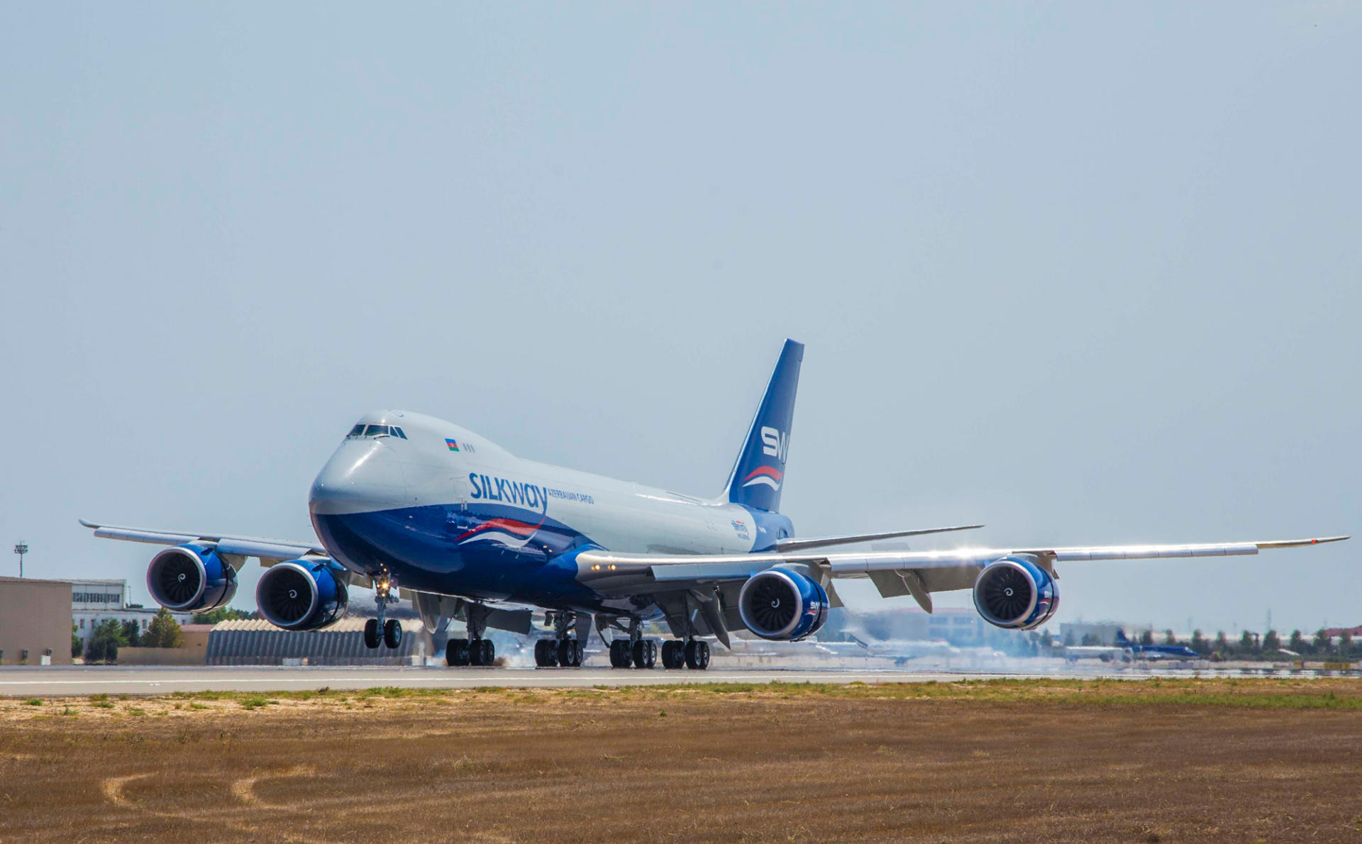 Silk Way Airlines expands fleet with another Boeing 747-8F freighter (PHOTO)