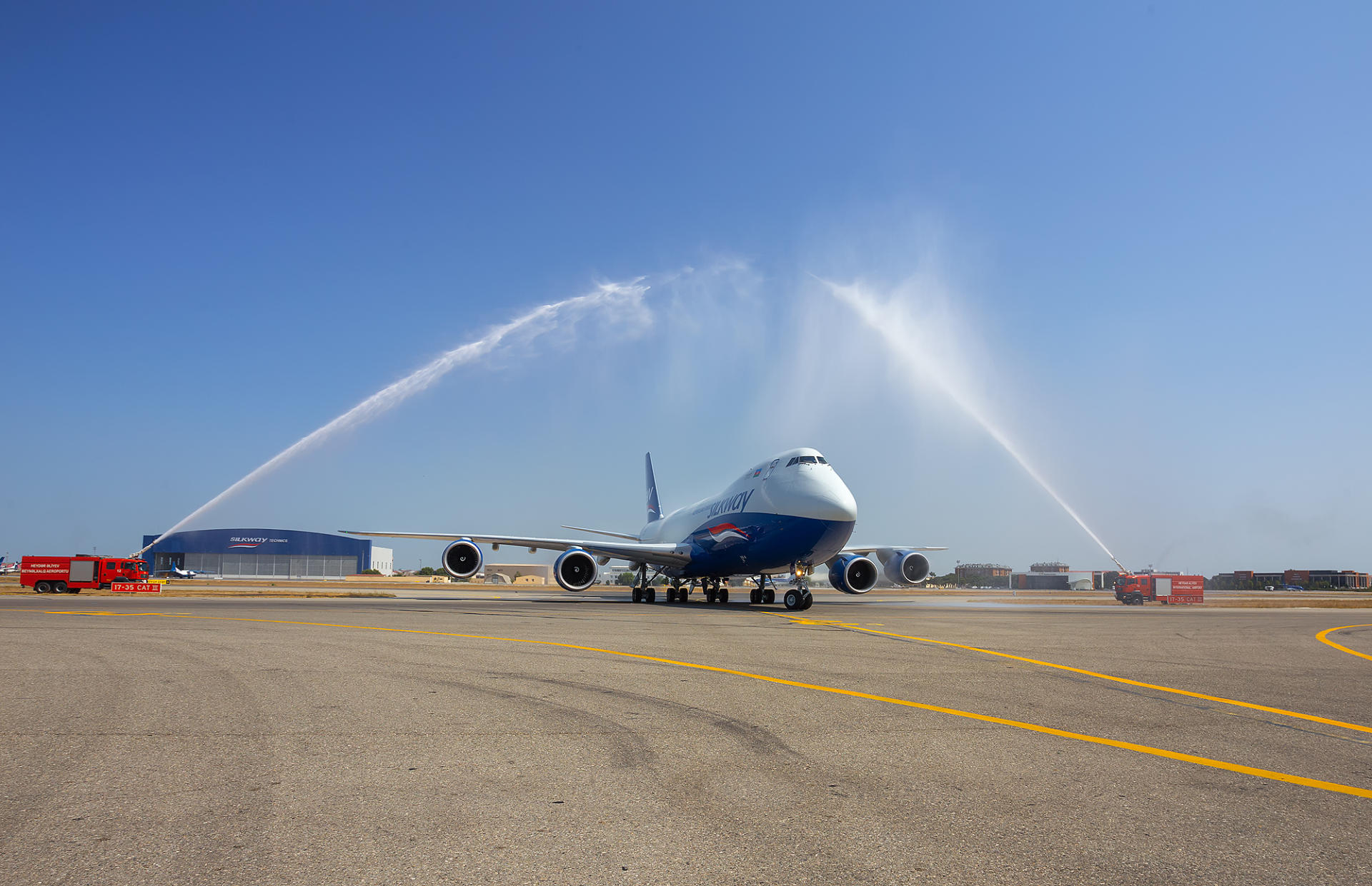 Silk Way Airlines expands fleet with another Boeing 747-8F freighter (PHOTO) - Gallery Image