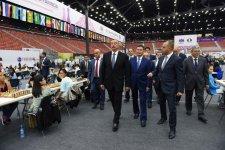 Cumhurbaşkanı Aliyev 42. Dünya Satranç Olimpiyatları ilk turu açılışına katıldı - Gallery Thumbnail