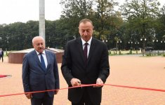 Ilham Aliyev opens Flag Square in Masalli (PHOTO) - Gallery Thumbnail