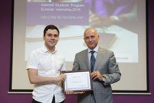 Azercell's Summer Internship Program-2016 ends (PHOTO) - Gallery Thumbnail