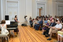 Brilliant performance of Israeli artists in Baku (PHOTO) - Gallery Thumbnail