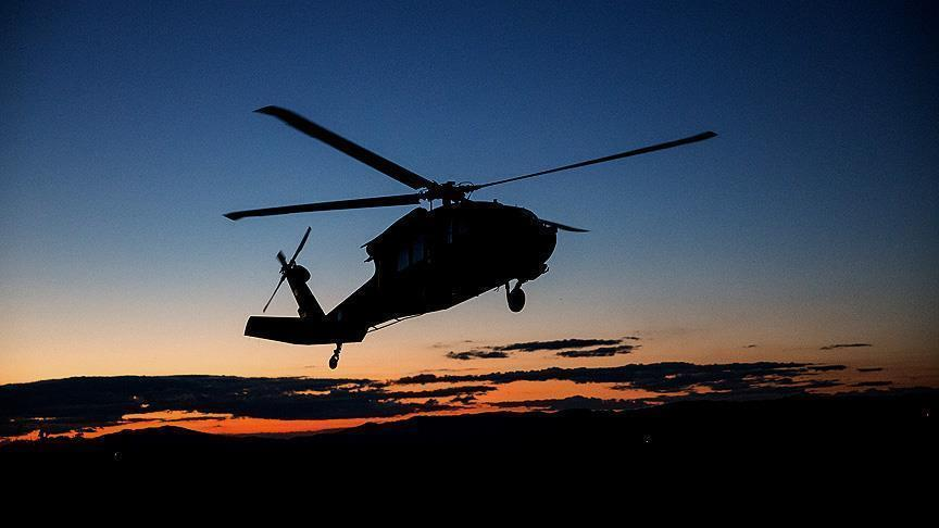 Three people dead in helicopter crash in Afghanistan