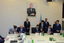 """Azərbaycan  və """"DP World"""" azad ticarət zonasının yaradılması üçün saziş imzaladılar (FOTO) - Gallery Thumbnail"""