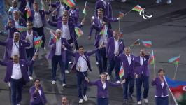 Azerbaijani Paralympians join competitions in Rio  (PHOTO) - Gallery Thumbnail