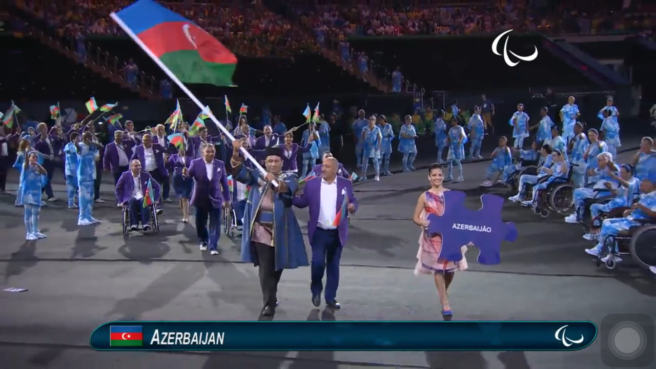 Azerbaijani Paralympians join competitions in Rio  (PHOTO) - Gallery Image