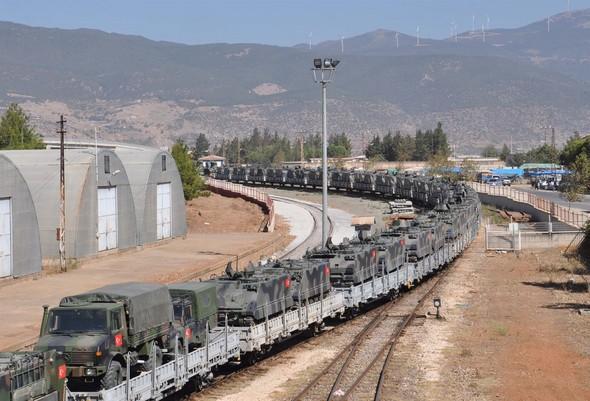 Турция укрепляет наблюдательные пункты в Идлибе