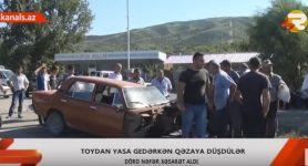 Toy yasa döndü - 4 yaralı (FOTO/VİDEO) - Gallery Thumbnail