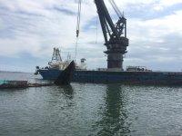 Как очищают Бакинскую бухту (ФОТО, ВИДЕО) - Gallery Thumbnail