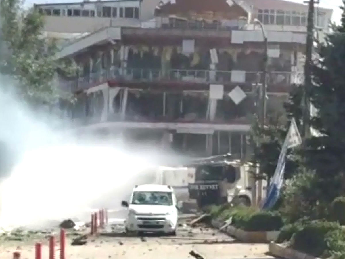 48 injured in car bomb attack in Turkey (VIDEO)