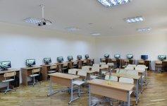 Ilham Aliyev views overhauled school-lyceum in Baku (PHOTO) - Gallery Thumbnail