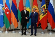 Ilham Aliyev attends CIS Council of Heads of State meeting - Gallery Thumbnail