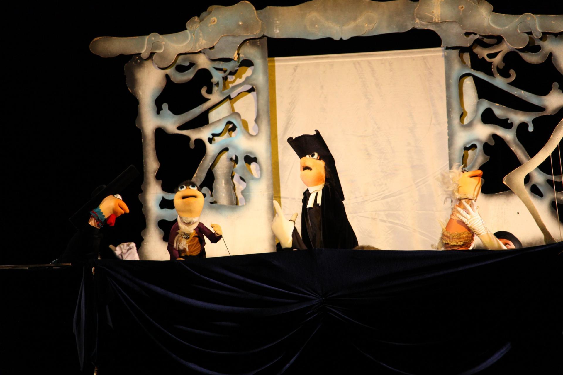 Şəkidə gürcü teatrının balacalar üçün tamaşası (FOTO) - Gallery Image