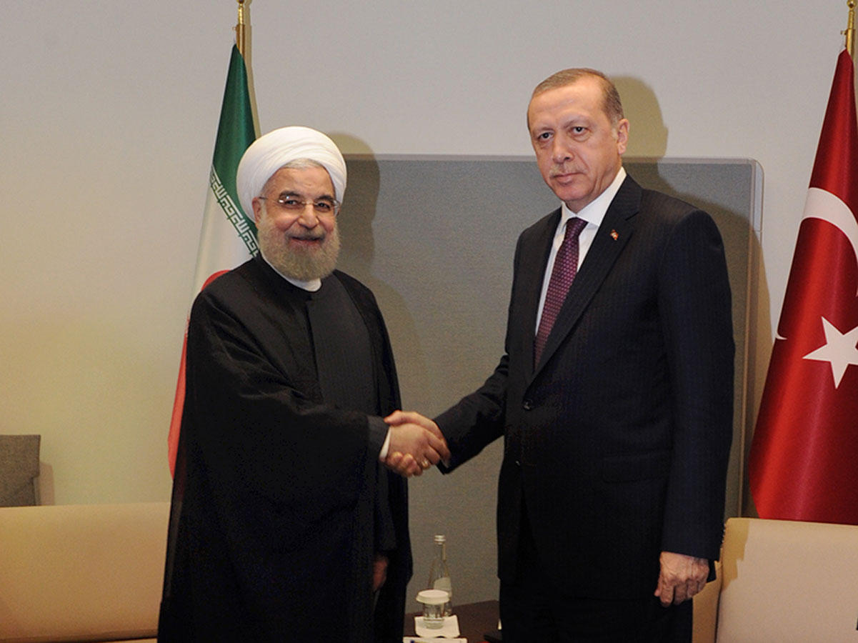 Turkish, Iranian presidents mull situation in Syria