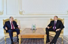 Ilham Aliyev receives Deputy Chairman of Council of Federation of Russian Federal Assembly (PHOTO) - Gallery Thumbnail
