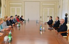 Ilham Aliyev receives delegation of European People's Party - Gallery Thumbnail