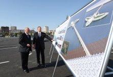Ilham Aliyev opens Sumgayit Seaside Boulevard (PHOTOS) - Gallery Thumbnail