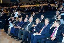 В Центре Гейдара Алиева проходит V Бакинский международный гуманитарный форум (ФОТО) - Gallery Thumbnail