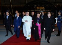 Pope Francis ends visit to Azerbaijan (PHOTO) - Gallery Thumbnail