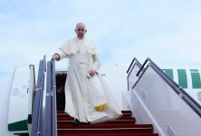 Pope Francis arrives in Baku (PHOTO) - Gallery Thumbnail