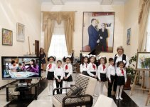Leyla Aliyeva visits social service institution for disabled kids (PHOTO) - Gallery Thumbnail
