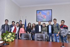 Meeting with People's Artist Fuad Poladov held at BHOS - Gallery Thumbnail