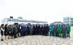 Ilham Aliyev inaugurates enterprises, boiler house in industrial park in Aghstafa (PHOTO) - Gallery Thumbnail
