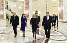 Official reception hosted in Baku in honor of Croatian president - Gallery Thumbnail