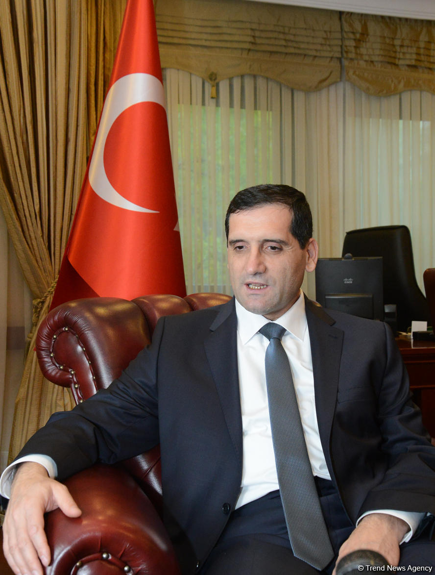 Büyükelçi Özoral: Türkiye-Azerbaycan karşılıklı ticaret hacimi için 2023 yılına hedef 15 milyar dolar (Özel) - Gallery Image