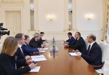 Ilham Aliyev receives Italy's foreign minister with delegation - Gallery Thumbnail