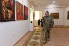Ilham Aliyev attends opening of State Art Gallery in Horadiz (PHOTO) - Gallery Thumbnail