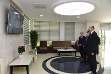 President Aliyev launches Beylagan city water supply, sewerage system - Gallery Thumbnail
