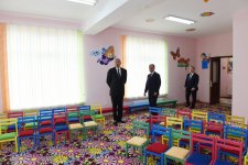 Ilham Aliyev attends opening of orphanage-kindergarten in Beylagan - Gallery Thumbnail