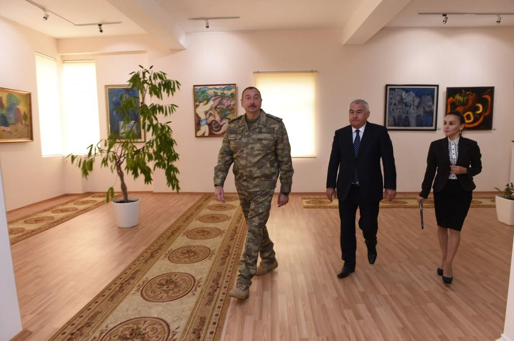 Ilham Aliyev attends opening of State Art Gallery in Horadiz (PHOTO) - Gallery Image